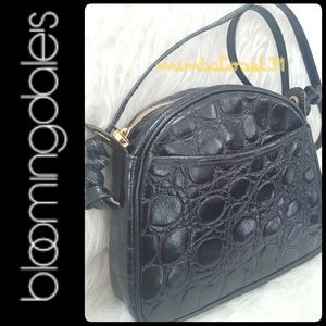 Bloomingdales Italy Leather Bag